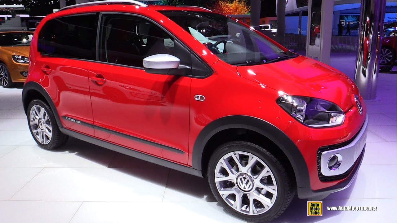 2016 volkswagen cross up exterior and interior walkaround 2015 frankfurt motor show youtube. Black Bedroom Furniture Sets. Home Design Ideas