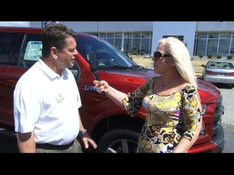 John Bleakley Ford >> REEL Video Test Drive 2015 Ford F-150 Super Crew Lariat with Criss Castle at John Bleakley Ford ...