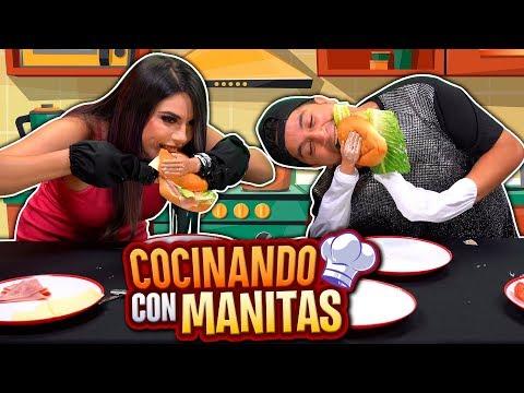 Cocinando con Manitas | Lizbeth VS Mario Aguilar