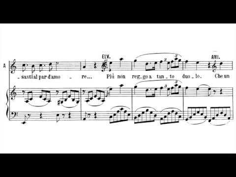 Oh! Se una volta... Ah, non credea mirarti... Ah, non giunge; La sonnambula; Anna Moffo (with score)