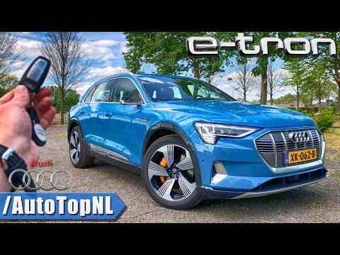 2019 AUDI E TRON REVIEW POV Test Drive by AutoTopNL