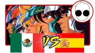 Doblaje Latino VS Español  - Saint Seiya Opening/Pegasus Fantasy