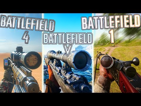 SNIPING in BF5 vs BF1 vs BF4 (WHO WON?) | Battlefield 5 Sniper Gameplay