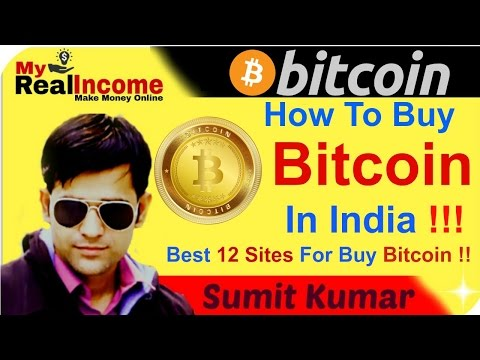 How To Buy A Bitcoin In India ? Best 12 Sites For Buy Bitcoin !!