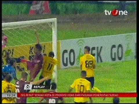 Keren!! Tendangan Pojok Langsung Gol - PSM Makassar vs Semen Padang - 02/10/2017