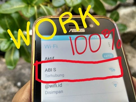 Cara hack wifi||android||no root 100%work#tutorial 2