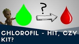 Lecznicze właściwości CHLOROFILU? Hit, czy kit? 🌱💉
