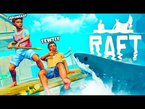 *NEW* THE LARGE ISLAND UPDATE - RAFT SURVIVAL w/ Tewtiy #1