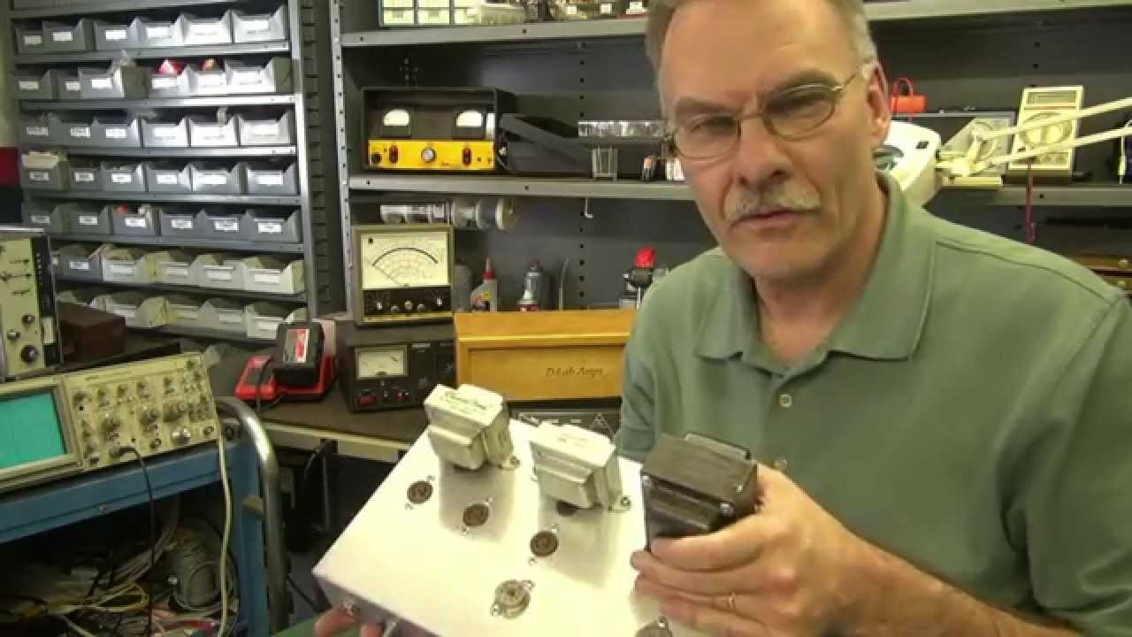 How to layout a tube guitar amp chassis by D-lab electronics Homebrew
