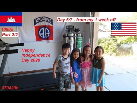 Cambodian in America (The fireworks on Independence Day 2020)