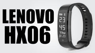 Lenovo HX06 - 0.87 inch Flat Bezel-less Screen / IP67 waterproof /  Calls / SMS / Notifications