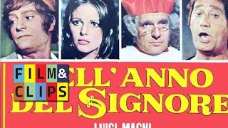 Nell'anno del Signore  clip con Manfredi Cardinale Tognazzi