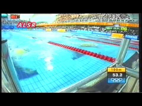 ATHENS 2004 - Swimming - 400 m freestyle Men - final
