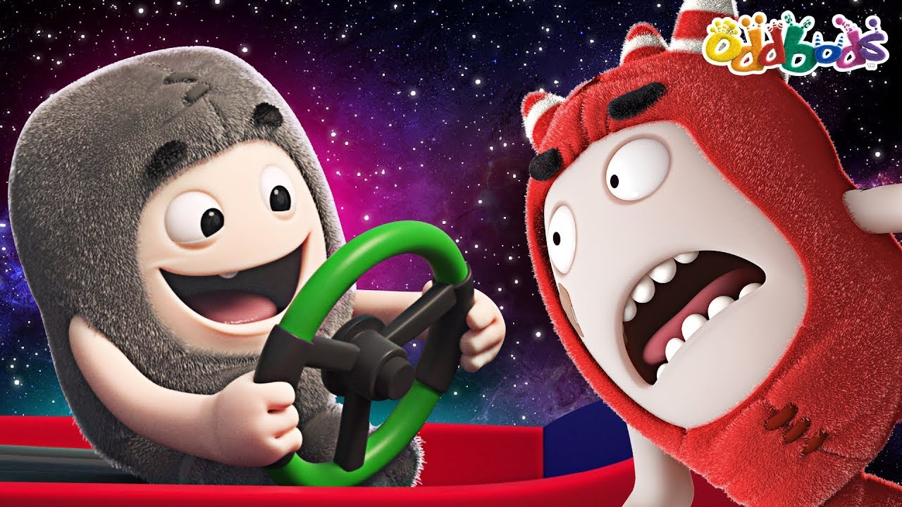 Oddbods | New | HIGH IN SPACE | Funny Cartoons For Kids