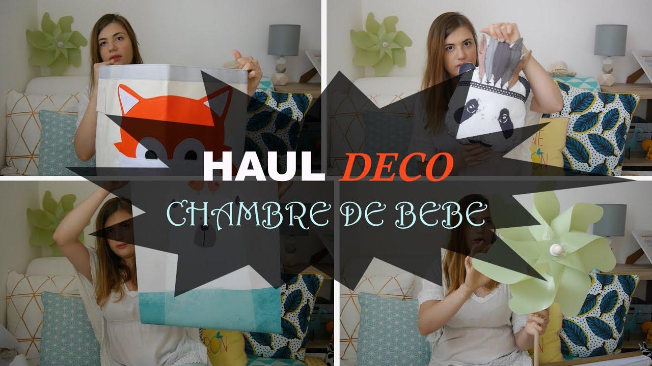5 Haul déco chambre de bébé : Aliexpress et Maisons du monde - YouTube