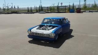 64 Chevy Nova Drag Car