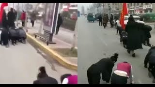 china-company-forces-employees-to-crawl-on-road-as-punishment-for-not-completing-targets-video-goes-viral