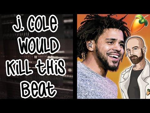 J. Cole would kill this beat   FL Studio 20 Tutorial