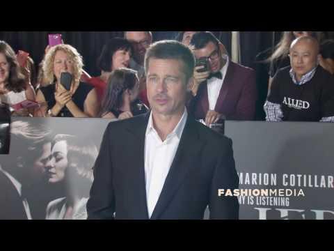 Marion Cotillard, Brad Pitt, Robert Zemeckis arrive at 'Allied' Fan Event in LA