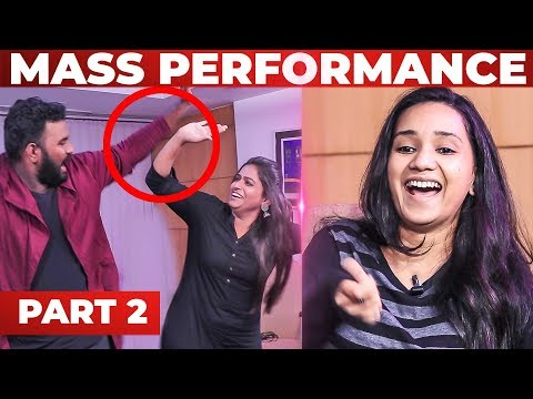 Black Sheep Nandhini KUTHU Dance with VJ Ashiq| RJ Raghvi, Deepthi | GP 2.2