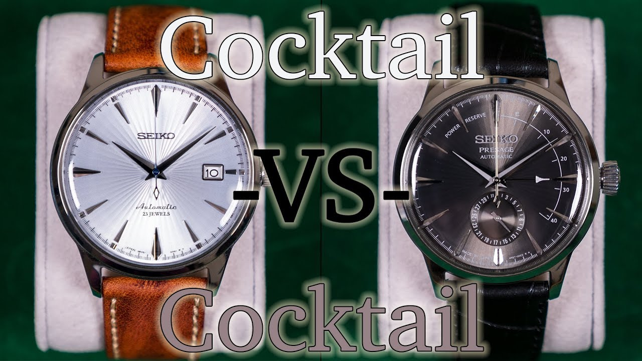 wholesale dealer 26e6b 5bb29 Seiko SARB065 -VS- Seiko SSA345 - Which Cocktail Time Should You Buy?