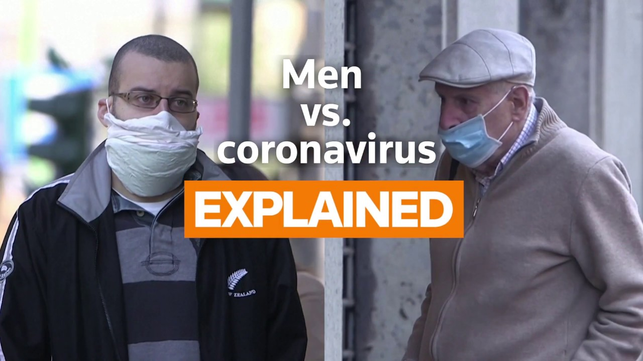 Men more likely to get coronavirus, research shows