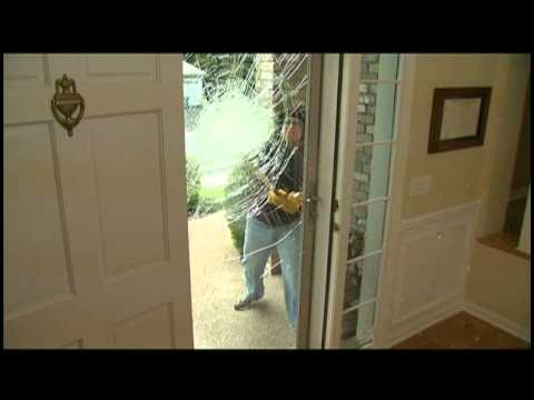 Secure Elegance Doors Breaking Glass Naps Tv Youtube
