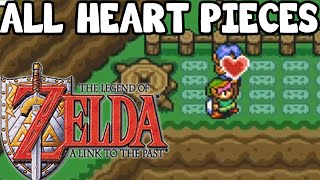 All Heart Pieces in The Legend of Zelda: A Link to the Past Guide