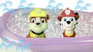 Patrulla de cachorros guarderia infantil y piscinajuegos y juguetes de paw patrol bebes y peppa pig