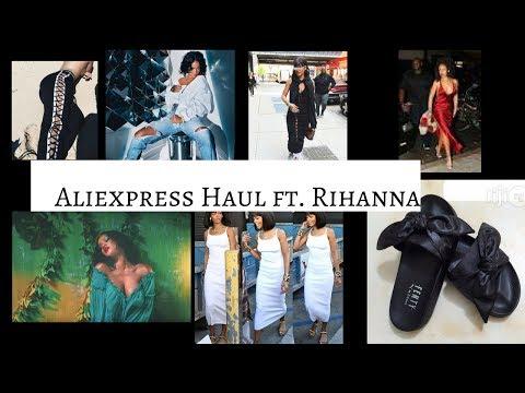 ALIEXPRESS Clothing Haul  Summer 2017 RIHANNA Edition  $6 and UP!
