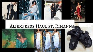 ALIEXPRESS Clothing Haul| Summer 2017|RIHANNA Edition| $6 and UP!