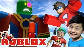 The Incredible 2 in Roblox Super Heroes in Roblox Roblox games for kids
