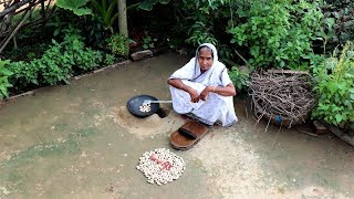 Village Style Best SABJI for  RICE & ROTI Prepared by our Grandmother | Jackfruit Seeds Recipe