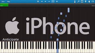 iPHONE ALERTS IN SYNTHESIA!