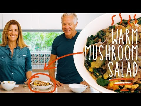 keto-recipe---warm-mushroom-+-chard-salad-w/-bacon