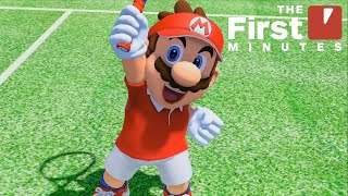Mario Tennis Aces - The First 18 Minutes (Adventure Mode)