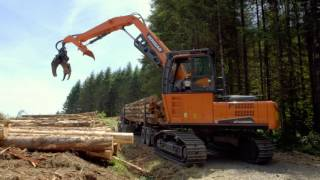 Doosan Real Work Stories: C&C Logging With The DX225LL-5 Log Loader