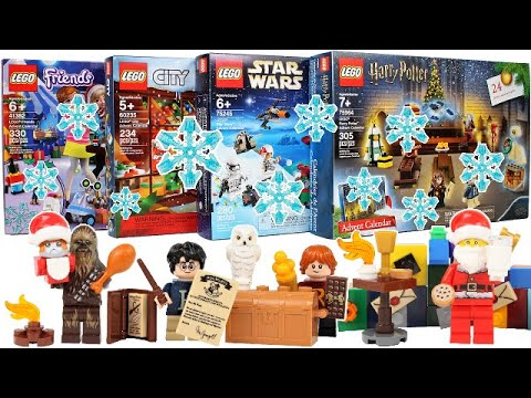 Every 2019 LEGO Advent Calendar Door Opening - Day 24 Christmas Eve!