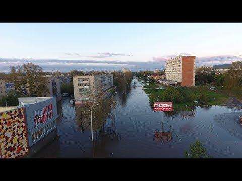 Наводнение в Комсомольске на Амуре 2019 (как это было)