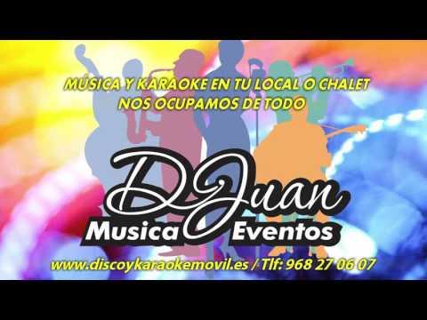 DISCOTECA ACTUAL DJUAN Alquiler disco y karaoke Murcia