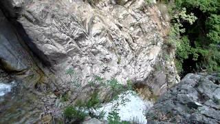 La più alta cascata dell'Appennino Meridionale