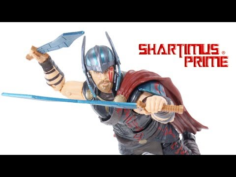 Marvel Legends Thor Ragnarok Movie Gladiator Hulk BAF Wave Action Figure Hasbro Toy Review