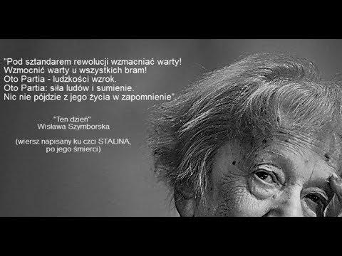 Pseudoautorytet Wisława Szymborska