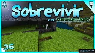 Sobrevivir en Survivalcraft 1.27.19 Gameplay Español - Construyendo el establo | Ep 36