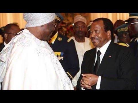 LE ROI IBRAHIM MBOMBO NJOYA LE SAGE NATIONAL, DONNE LES CONSEILS A SON AMI PAUL BIYA