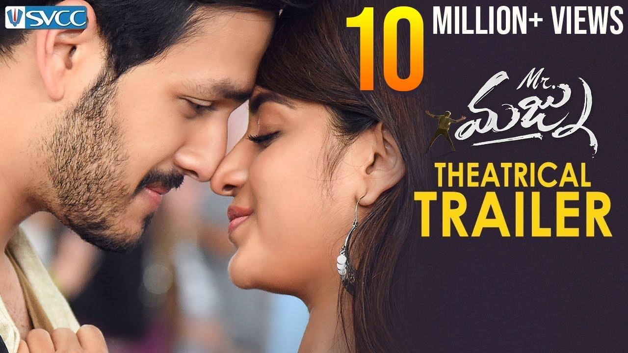 Mr Majnu Theatrical Trailer | Akhil Akkineni | Nidhhi Agerwal | Thaman S | Venky Atluri | SVCC