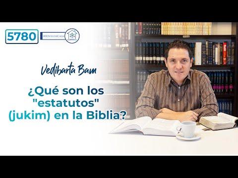 """Vedibarta Bam - ¿Qué son los """"estatutos"""" (jukim) en la Biblia?"""