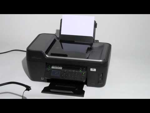 lexmark prospect pro205 lautst rketest youtube. Black Bedroom Furniture Sets. Home Design Ideas
