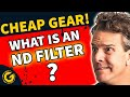 What Is an ND Filter? Cheap Vlogging Equipment