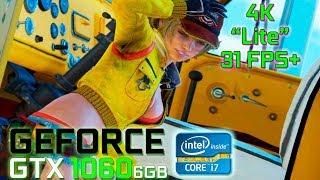 Final Fantasy XV PC Steam Demo Benchmark [4K Lite] (GeForce GTX 1060 / Intel i7 7700)